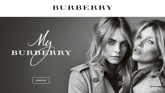 mgluxurynews My Burberry Cara Delevinge & Kate moss