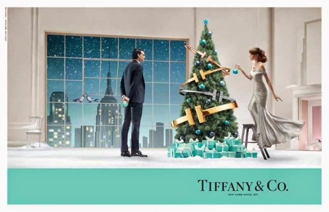 mgluxurynews Tifanny Christmas campaign gifts