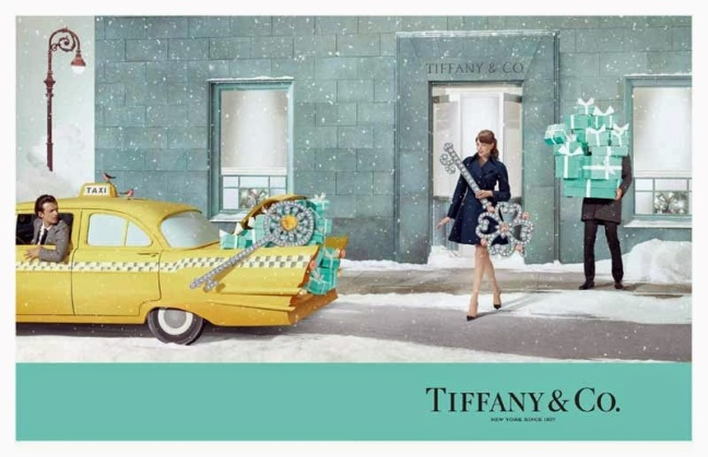 mgluxurynews Tiffany Christmas campaign Taxi Jewels