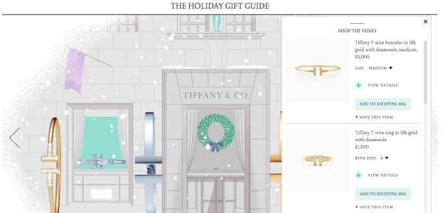 mgluxurynews Tiffany e-commerce Gift Guide Christmas