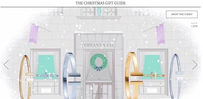 mgluxurynews Tiffany Gift Guide Video Christmas