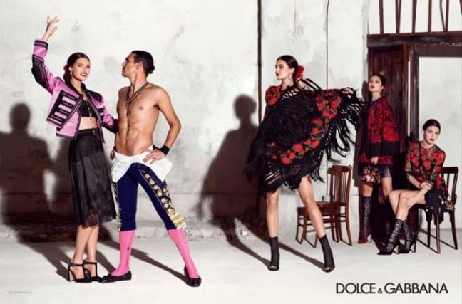 mgluxurynews Dolce & Gabbana 2015 summer Ad Campaign Manzanares