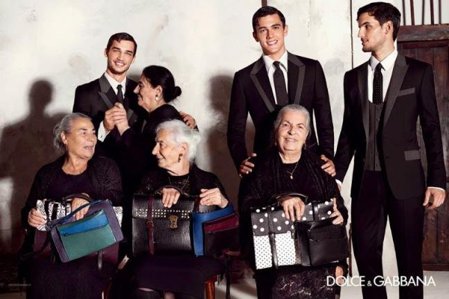 mgluxurynews Dolce & Gabbana 2015 summer Ad Campaign Traditional Spanish Family