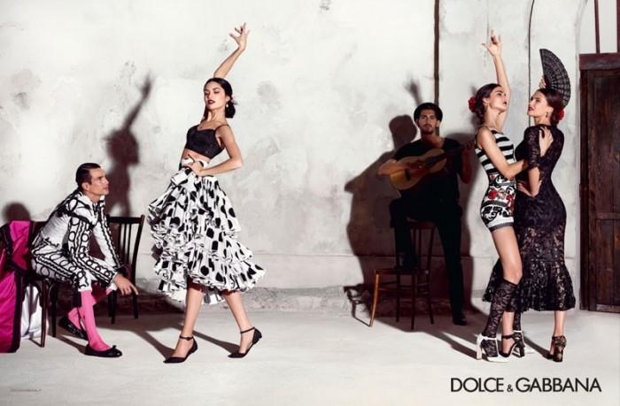 63fc42c220c0 mgluxurynews Dolce   Gabbana 2015 summer Ad Campaign ...
