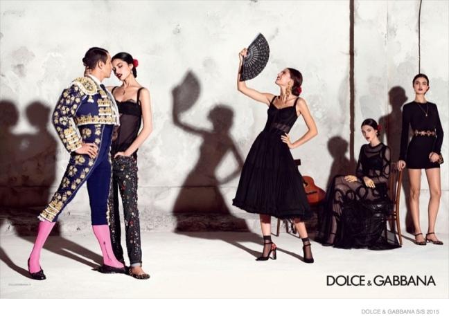 mgluxurynews Dolce & Gabbana 2015 summer campaign Torero Manzanares