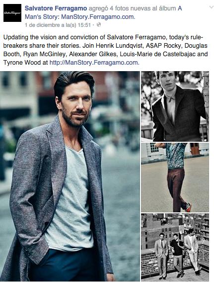mgluxurynews Ferragamo Facebook Post Man's Story
