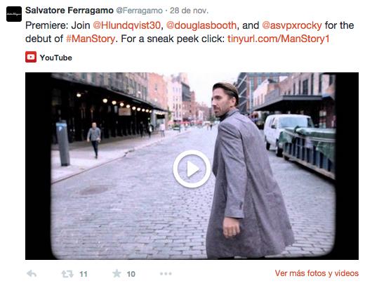 mgluxurynews Ferragamo Twitter Teaser Man's Story