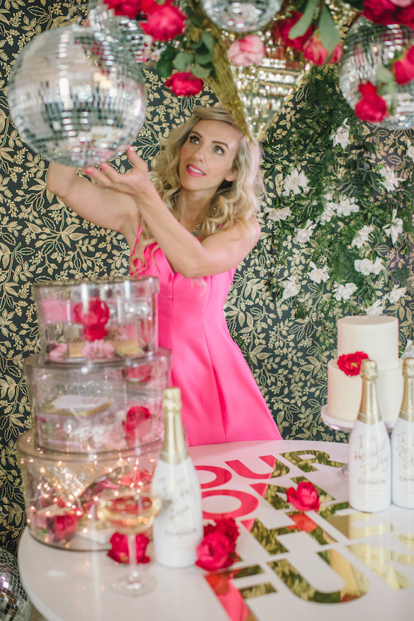 mgluxurynews Taylor Sterling Pour on the fun Chandon campaign