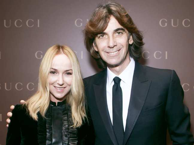 mgluxurynews Gucci Frida Giannini and Patrizio di Marco