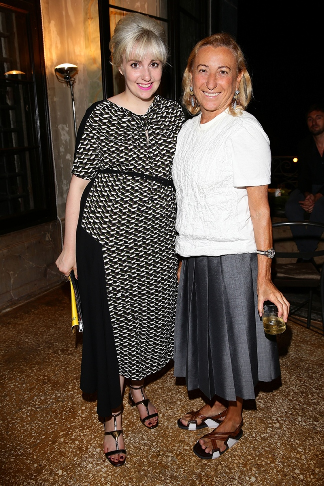 mg luxury news miuccia prada at Women's Tale screen