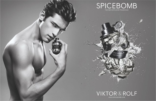 mgluxurynews Viktor & Rolf leave ready to wear Men fragrance Spice Bomb