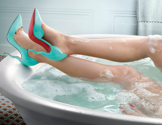 louboutin spring summer collection ads