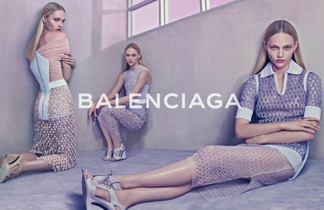 mgluxurynews Balenciaga SS2015 ad campaign