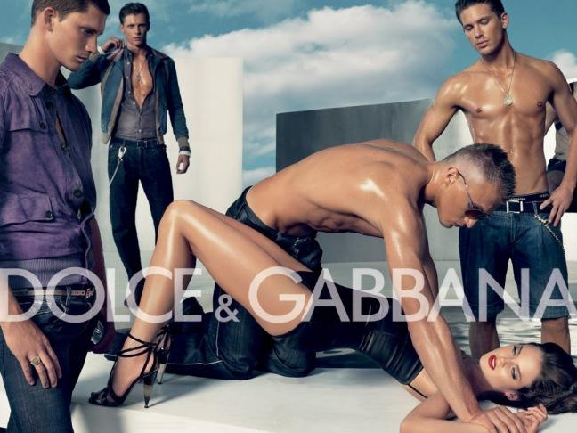 mgluxurynews Dolce & Gabbane banned Sex Ad