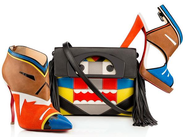 mgluxurynews Louboutin new tribal inspired collection