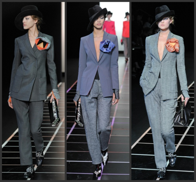 mgluxurynews power suits Armani