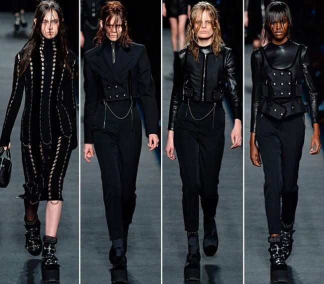 mgluxurynews Alexander Wang 2015 Fall dirty hair
