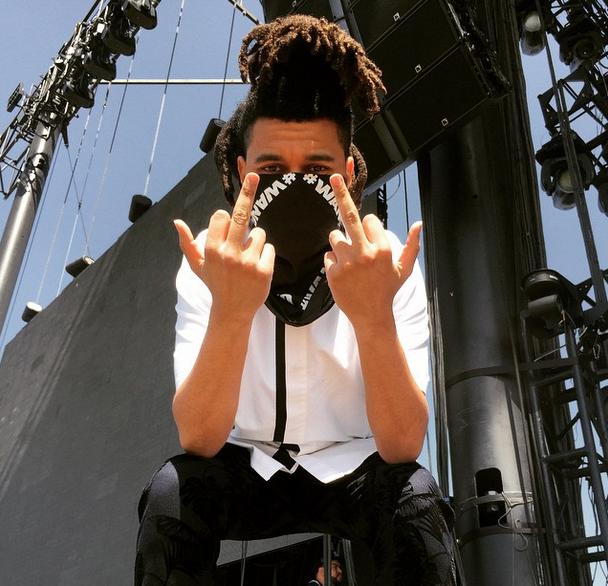 mgluxurynews Coachella The Weeknd Alexander Wang