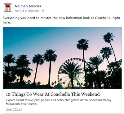 mgluxurynews Neiman Marcus Coachella