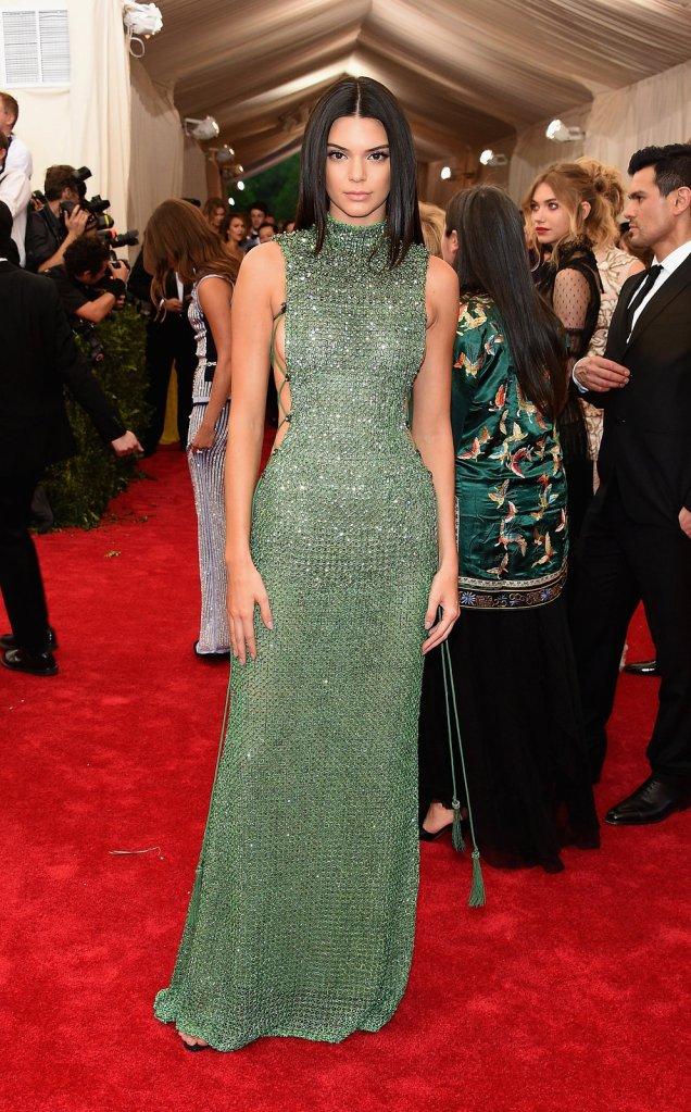 mgluxury news Kendall Jenner Met Gala Calvin Klein