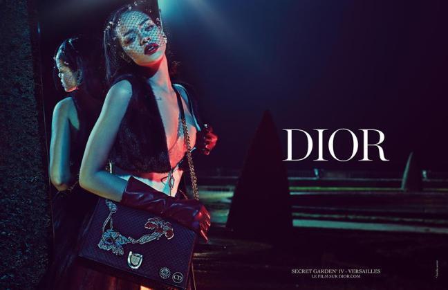 mgluxurynews Rihanna for Dior Secret Garden 4 campaign 1