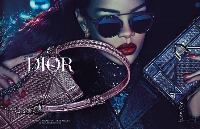 mgluxurynews Rihanna for Dior Secret Garden 4 campaign 3
