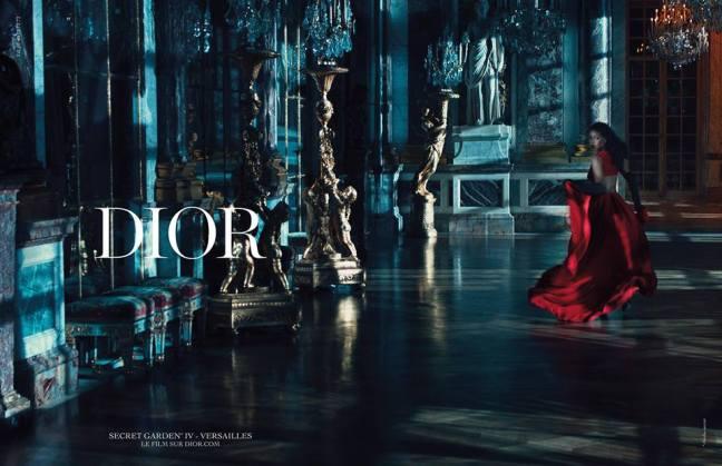mgluxurynews Rihanna for Dior Secret Garden 4 campaign 4