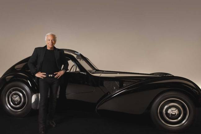 mgluxurynews Ralph Lauren and his cars