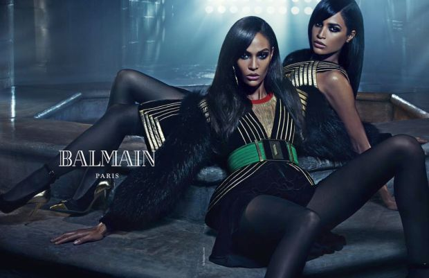 mgluxueynews Balmain Siblings Fall 2015 campaign