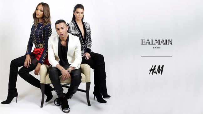 mgluxurynews Balmaination O Rousteing and Kendall Jenner HM