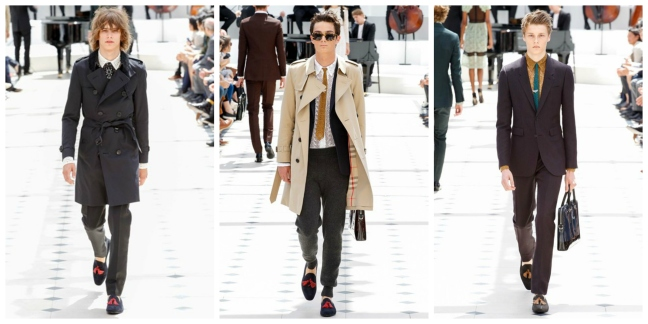 mgluxurynews Burberry Men Spring Summer 2016 Fashion Show