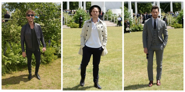 mgluxurynews Burberry Men SS16 Front Row
