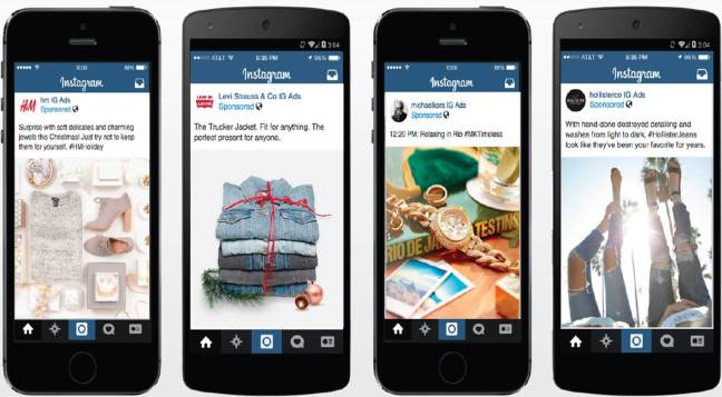 mgluxurynews instagram fashion ads