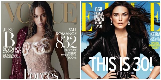 mgluxurynews September Issue Vogue Elle