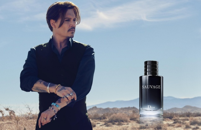 mgluxurynews Johnny Depp Sauvage