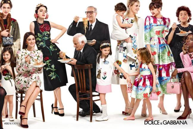 mgluxurynews Dolce & Gabbana campaign family