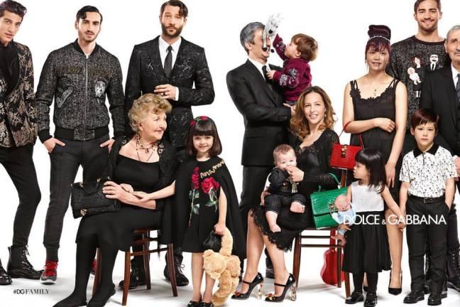 mgluxurynews Dolce & Gabbana family campaign