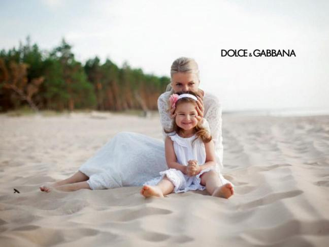 mgluxurynews Dolce&Gabbana Family campaign