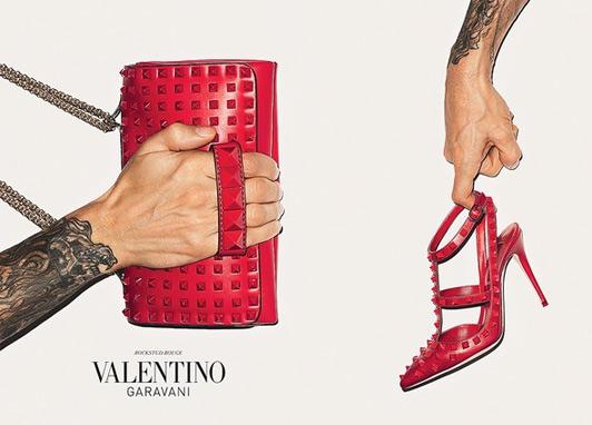 mgluxurynews Valentino Advertising