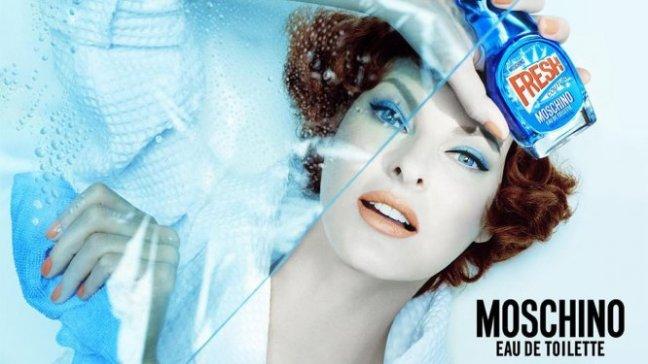 mgluxurynews Linda Evangelista for Moschino Fresh