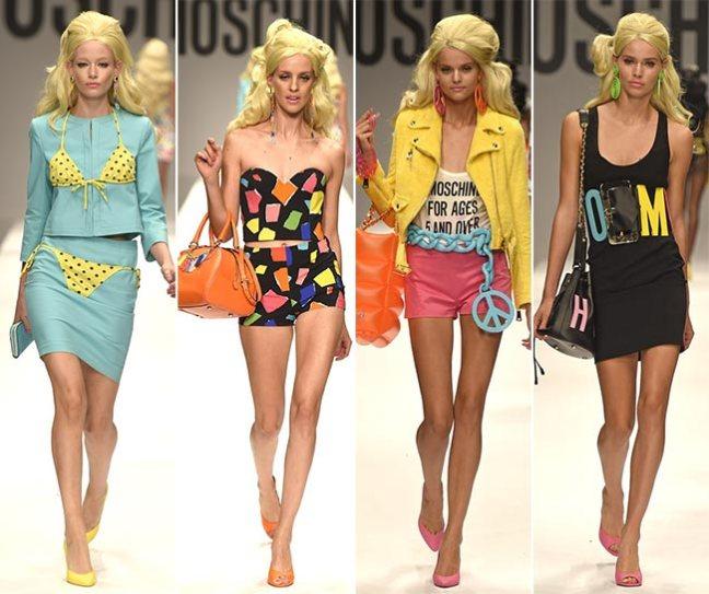 mgluxurynews Moschino SS15 Barbie Fashion Show