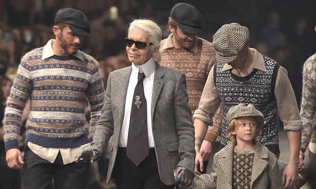 Chanel Karl Lagerfeld Cinecittà