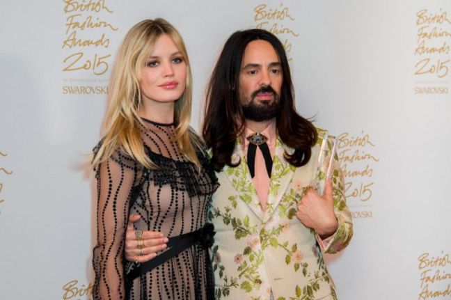 Alessandro Michele, Georgia-May Jagger,