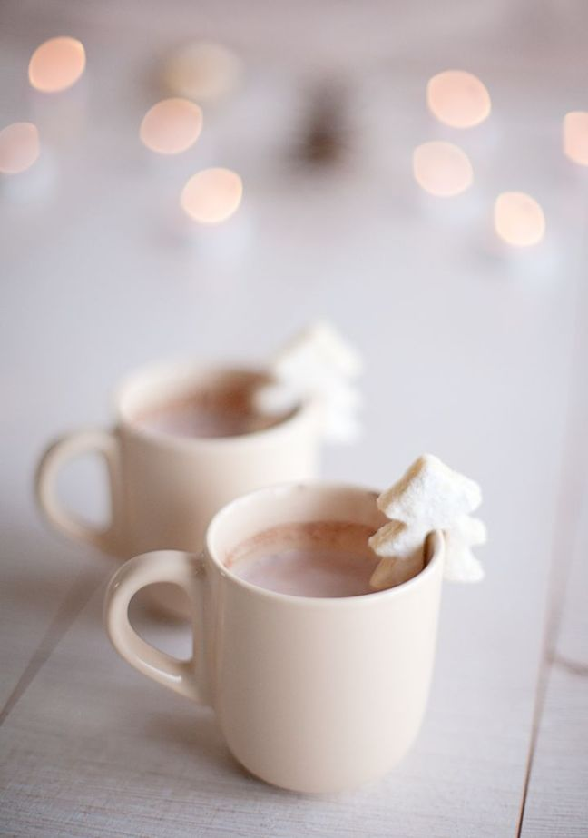 mgluxurynews Christmas hot chocolate with coockie