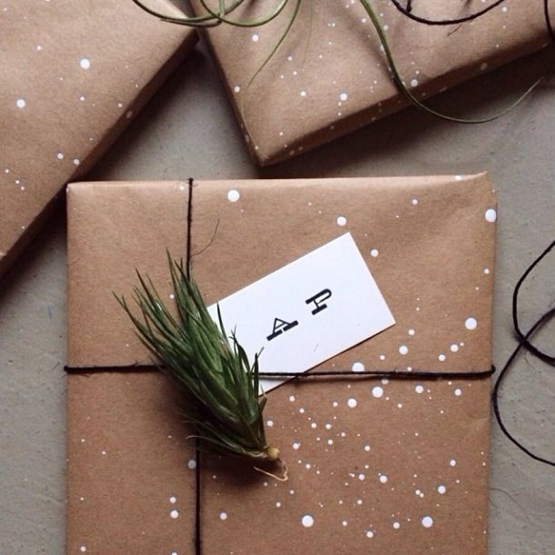 mgluxurynews Christmas wrapping DIY