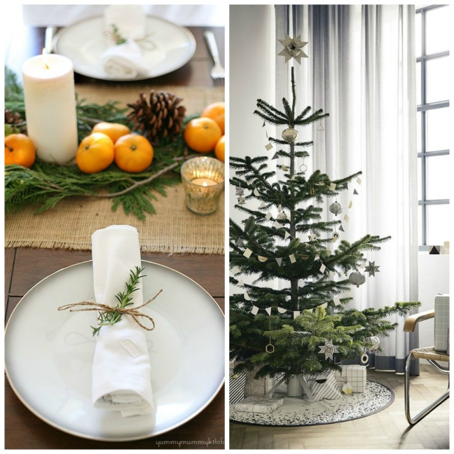 mgluxurynews simple and rustic Christmas deco