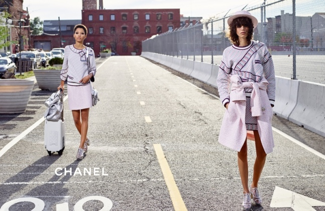 mgluxurynews Chanel Brookling advertising campaign