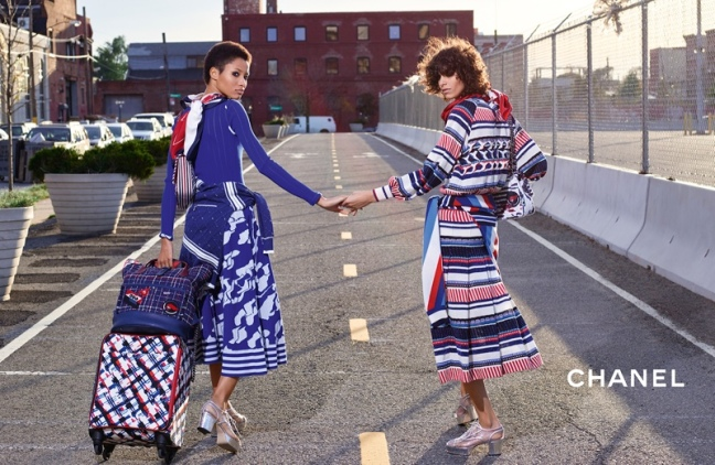 mgluxurynews Chanel SS16 advertising campaign