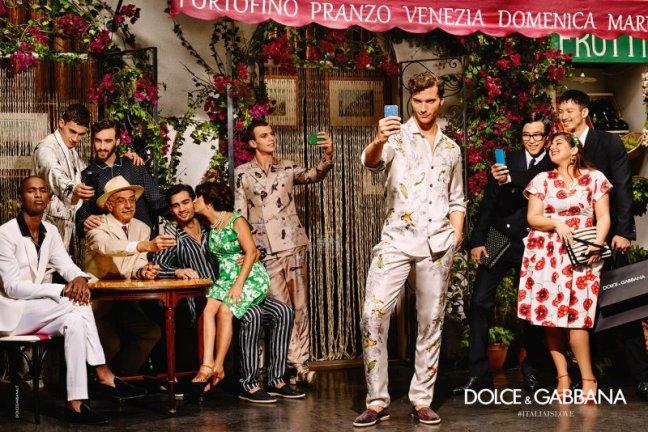 mgluxurynews Dolce & Gabbana SS16 campaign