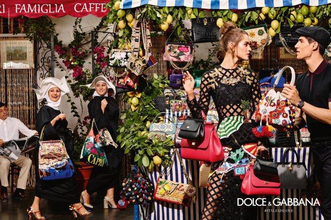 mgluxurynews Dolce & Gabbane advertising campaign